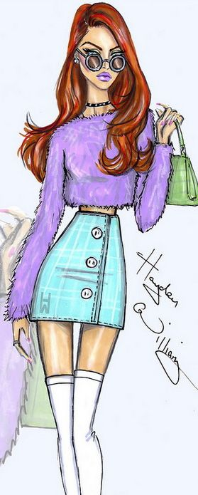 Fashion Illustration by Hayden Williams | House of Beccaria~