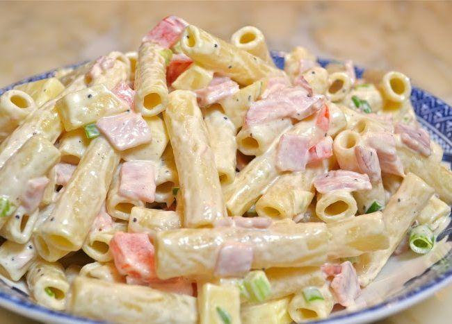 Κρύα σαλάτα ζυμαρικών με ζαμπόν - Daddy-Cool.gr