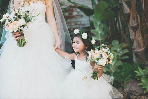 aw!! who wants to be my flower girl?