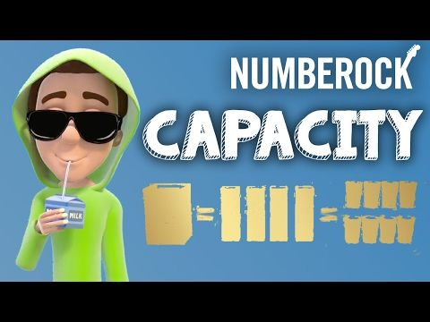 Capacity Song For Kids ★ Measurement Video by NUMBEROCK - YouTube