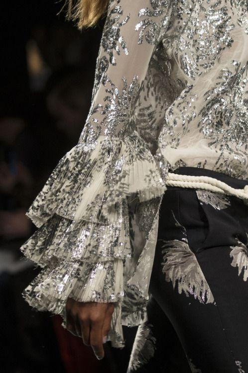 "improbabilefashionista:  "" Prabal Gurung at New York Fashion Week Fall 2017  """