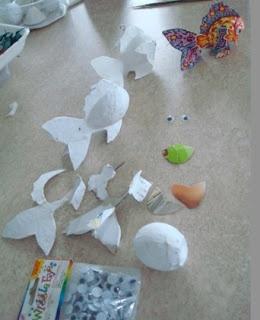 Mi Presencia en Papel Mache: papier mache