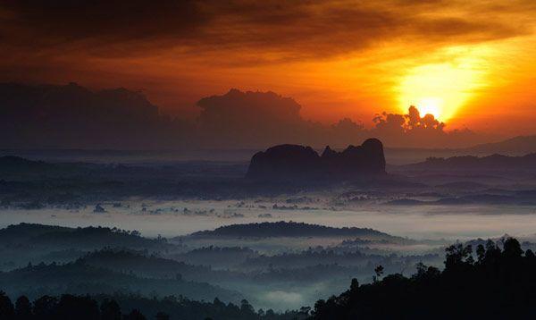 Lembing Hill, Kuantan, Malaysia