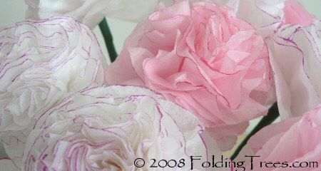 Tissue Paper Carnations