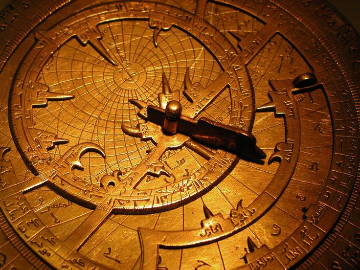 Astrolabes were global positioning instruments that determine the position of the sun and planets, so they were used in the fields of astronomy, astrology and horoscopes.