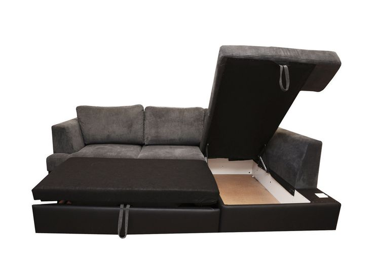 Best of The large plush cushions conceal not just a sofa bed but a storage ottoman in the Unique - Cool Sofas that Turn Into Beds Inspirational