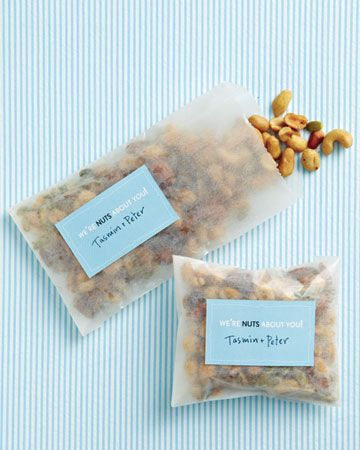 If you prefer savory over sweet, send your loved ones home with a salty snack mix