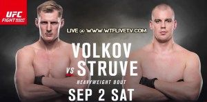 Watch UFC Fight Night 115 Volkov vs Struve Live Stream Online In 4K Ultra HD Quality On Your Favorite Device Using WTFLIVETV Web Or Apps.  UFC Fight Night 115 Live Stream