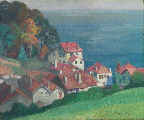 Roy de Maistre, Sea piece, St Jean de Luz, 1925