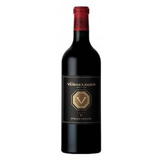Tender rather than plush on the palate: Vergelegen Estate V Red 2004. 87 points. #wine #SouthAfrica