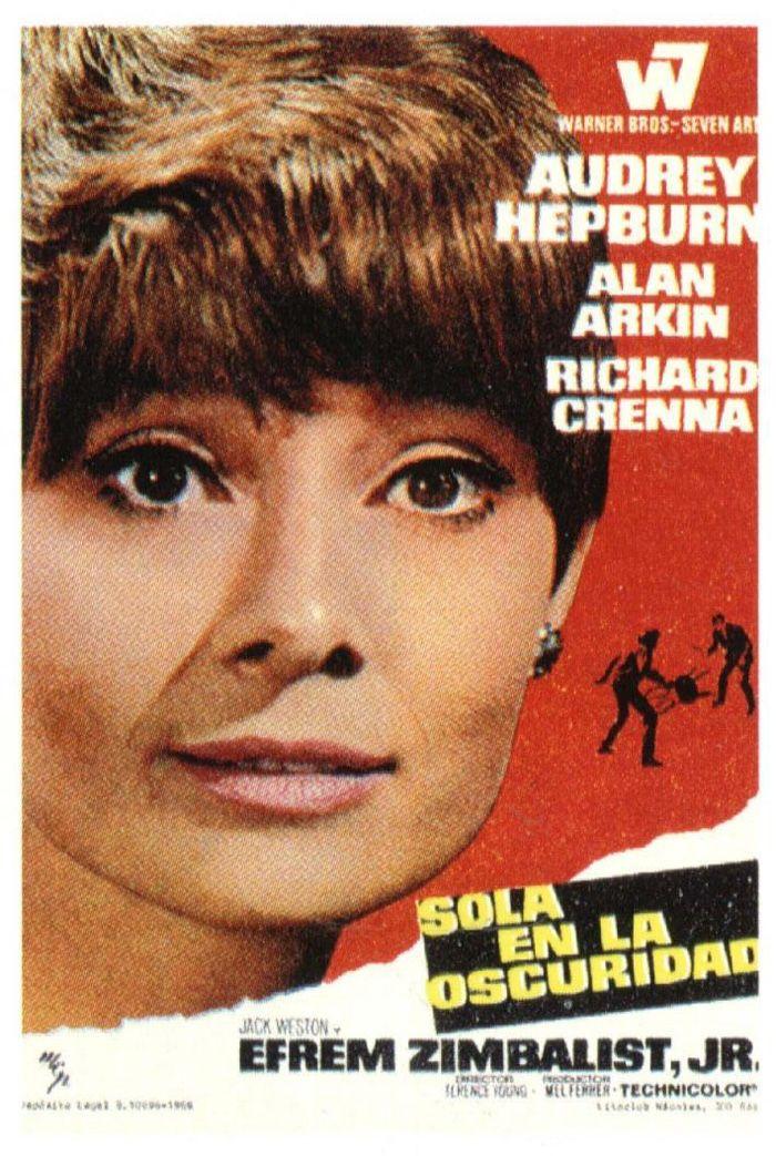 SOLA EN LA OSCURIDAD - Wait Until Dark - 1967