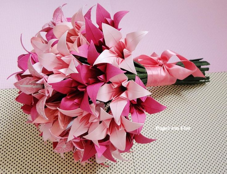 lillys origami buquets