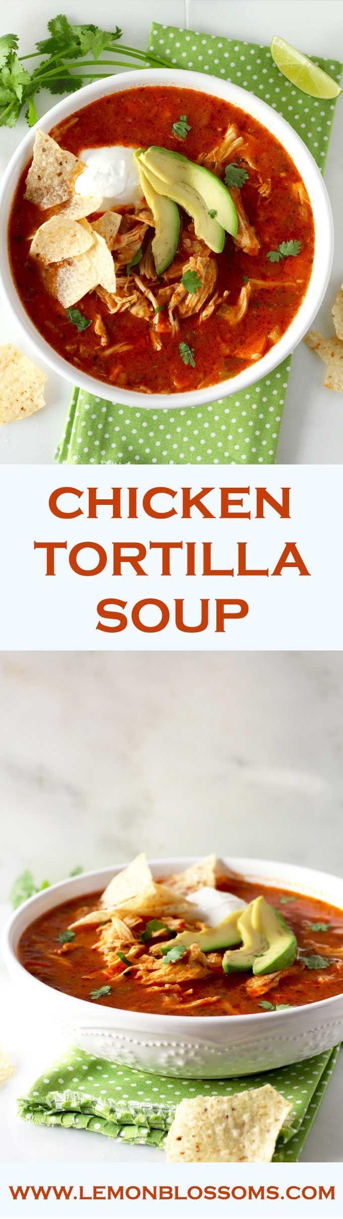 idee su Zuppa Di Tortilla Messicana su Pinterest | Zuppe, Tortillas ...