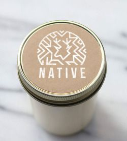 Logo Design for lifestyle brand Native in Williamsburg, Brooklyn. The Native brand values simplicity and craftsmanship with integrity. Native goods are born out of necessity, created with care and made to last.