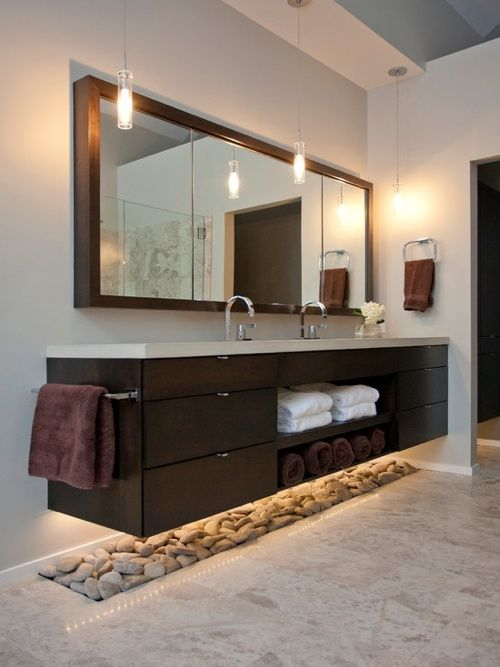 47 best Déco salle de bains images on Pinterest Bathroom ideas - Comment Installer Un Four Encastrable Dans Un Meuble