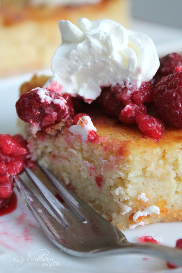 This delicious Lemon Yogurt Cake is a Trim Healthy Mama-friendly S dessert or snack that pairs perfectly with whipped cream and berries!