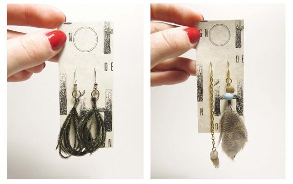 IH DESIGN | boucles d'oreilles by Isabelle Hurtubise, via Behance