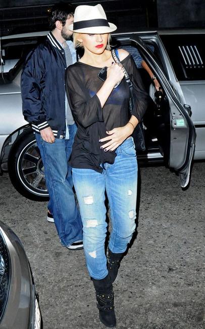 Christina Aguilera & Strategia Shoes