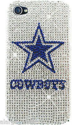 Dallas Cowboys NFL Bling iPhone 4 4S Case Snap On Cover Faceplate Protector , .