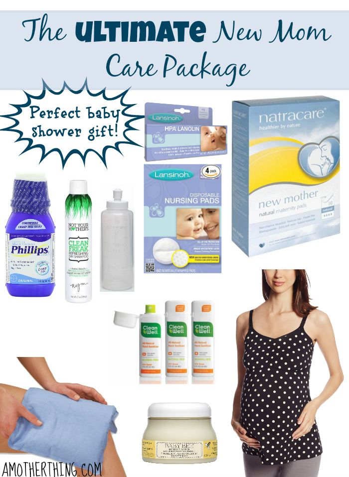 The Ultimate New Mom Care Package Gifts Care Packages