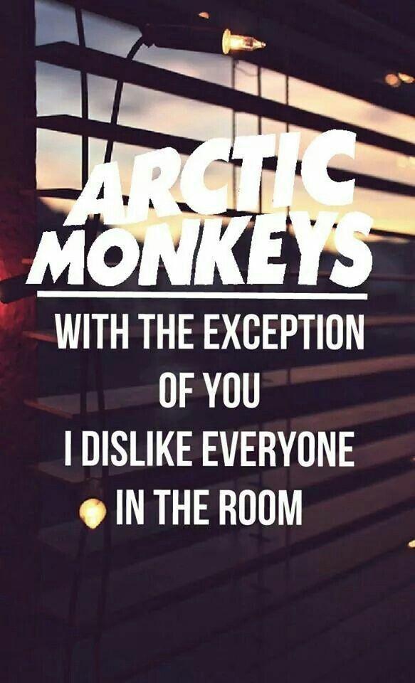 Arctic monkeys                                                       …