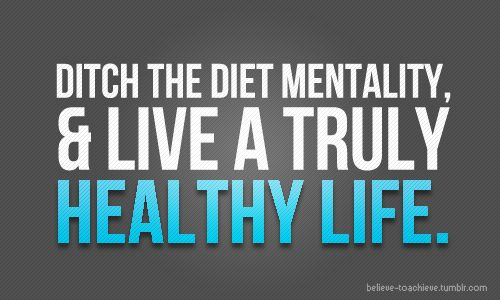 Ditch the diet mentality and live a truly healthy life. #juliomedina #shakeology #workout #motivation