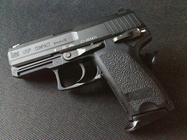 HK USP COMPACT 9mm....this is my baby! Love it!