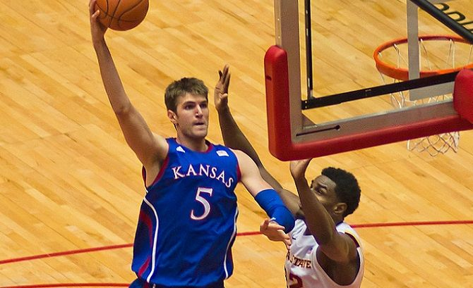 Jeff Withey Has Bill Self's Support After NBA Draft Results