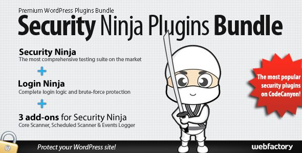 Security Ninja Plugins Bundle - best security plugins in one place