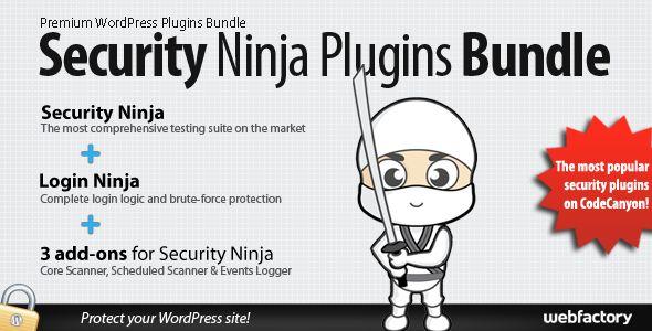 Security Ninja Plugins Bundle - best security plugins in one place