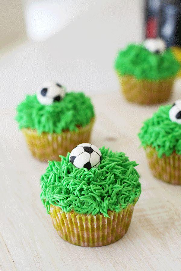 My Lovely Food : Football Cookies (Galletas decoradas pelota de fútbol)