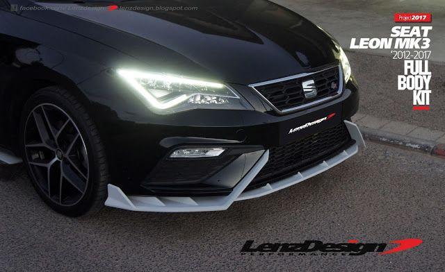 Seat Leon Mk3 5f Lenzdesign Bodykit Spoilers 2012 2013 2014 2015 2016 2017 2018 2019 Seat Leon Leon Body Kit