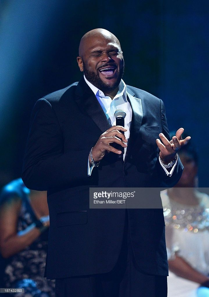 Singer Ruben Studdard performs onstage at the Soul Train Awards 2013 at the Orleans Arena on November 8, 2013 in Las Vegas, Nevada.