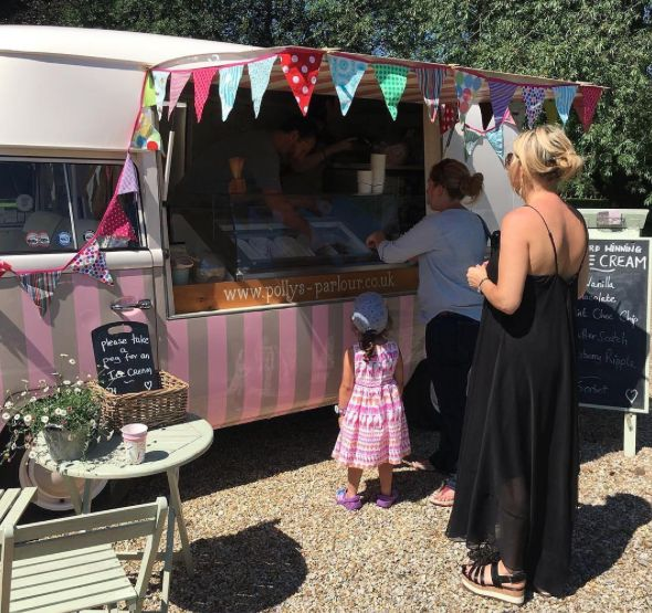 Children's Party Ideas ~ Ice Cream Van Hire ~ Wedding Inspiration ~ Party Food http://www.pollys-parlour.co.uk