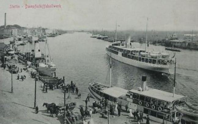 #Szczecin 1900s