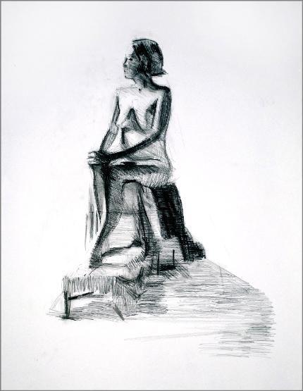 Dawn Hunter: Figure Drawings page 1
