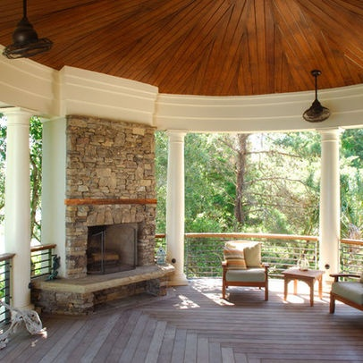 Porch Tray Ceiling Design, Pictures, Remodel, Decor And Ideas