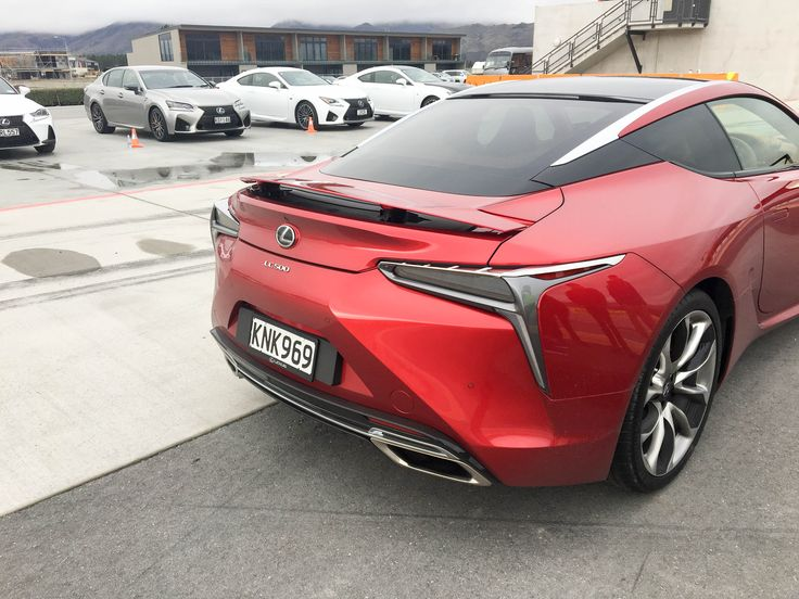 The sensational new coupe from Lexus; the Lexus LC 500 and Lexus LC 500h (hybrid) in front of an impressive line-up of Lexus performance vehicles. Photos taken at the official dealer launch day at Highlands Motorsport Park, Cromwell, New Zealand.     More on our website: https://www.lexus.co.nz/en/models/lc/lc-500.html?addealer=christchurch