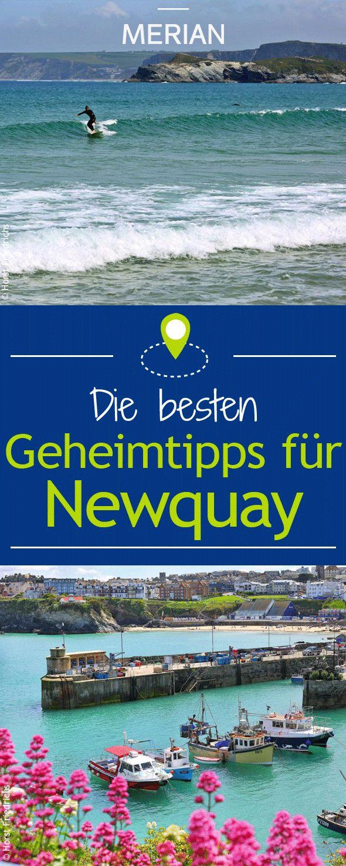 Urlaub im Kalifornien von England: Wir haben die besten Geheimtipps für eure Reise nach Newquay in der Grafschaft Cornwall.