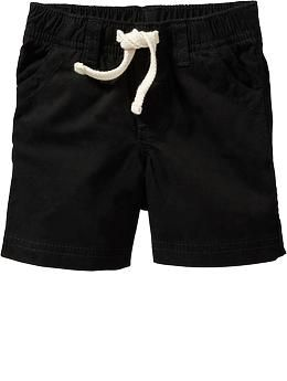 Pull-On Khaki Shorts for Baby
