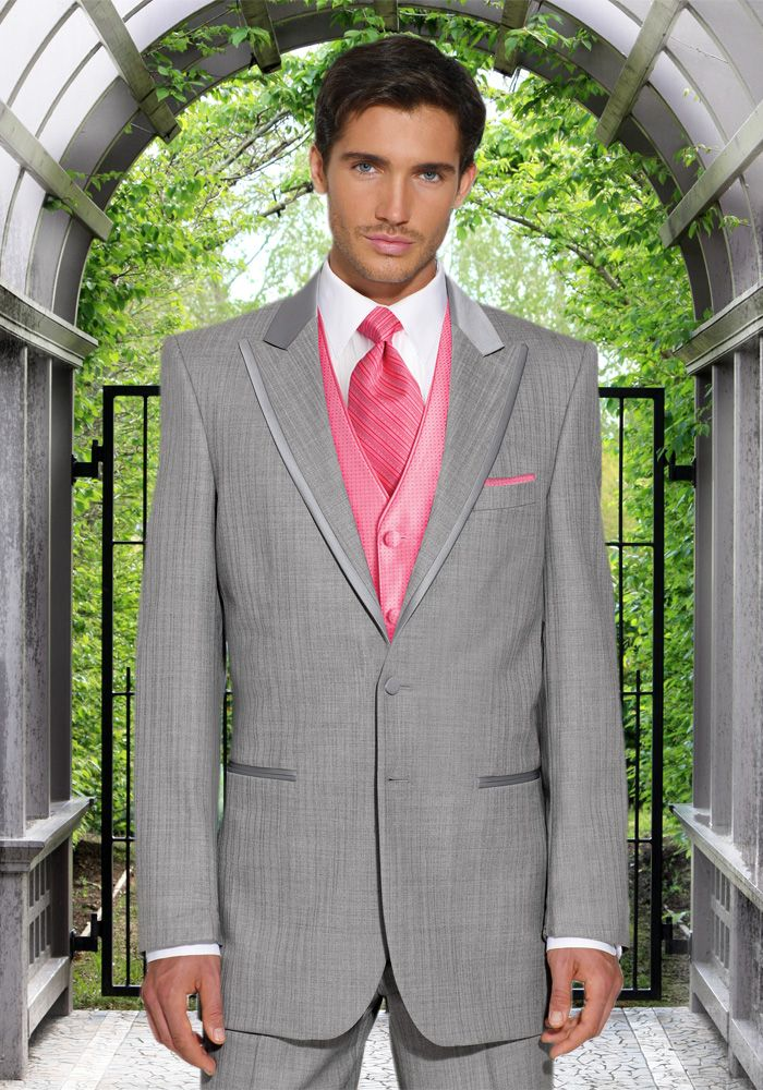 56 best Wedding Suits images on Pinterest | Pink ties, Pink ...