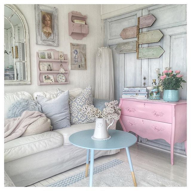 Shabby And Charming: Pastel Tones For A Delicious Norwegian House