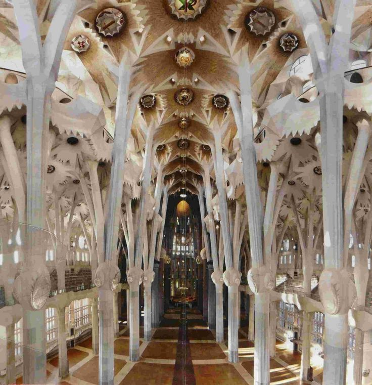Antonio Gaudi - Basilica of the Sagrada Familia in ...