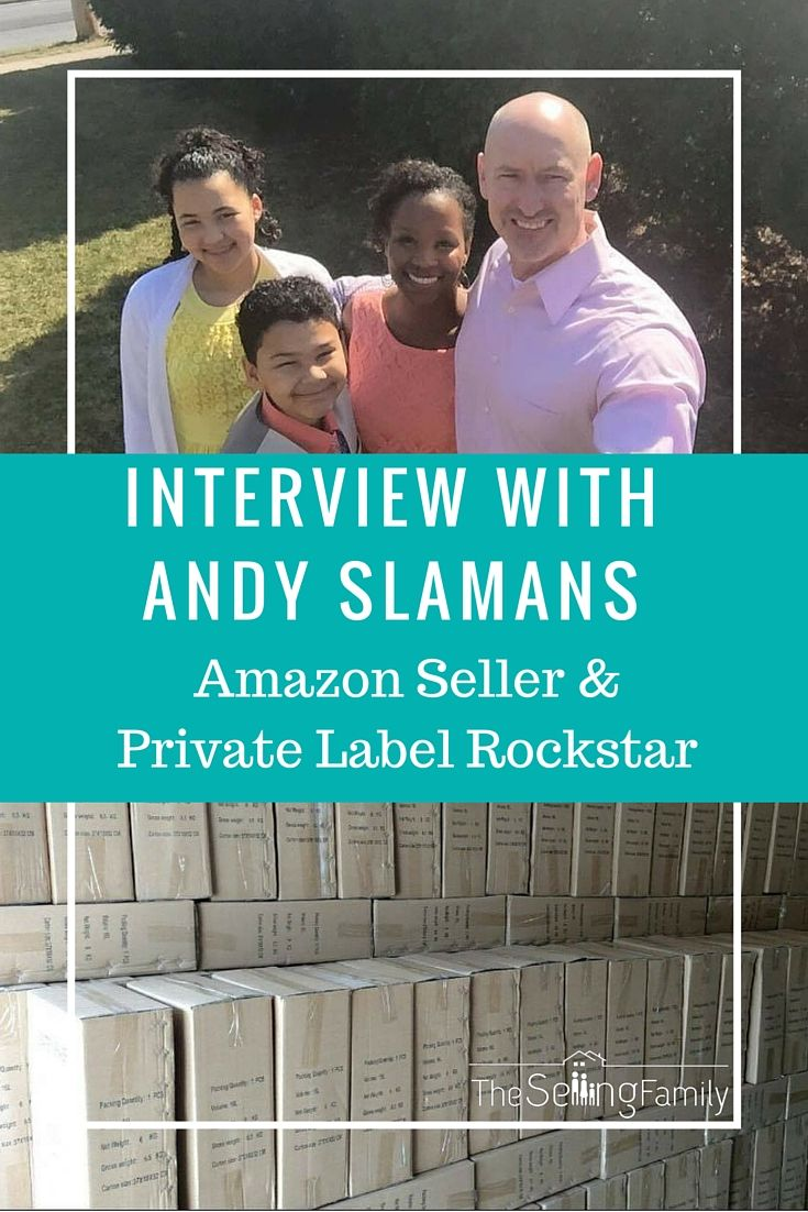 Andy Slamans shares the story of how he went from selling retail arbitrage on Amazon just a few years ago, to now selling over a million dollars a year doing private label!