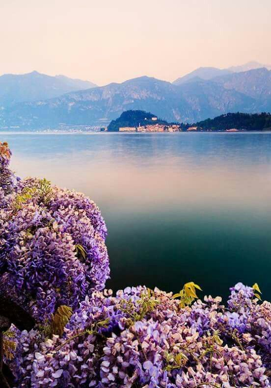 Lake Como, Italy; This is where my grandfather is from.