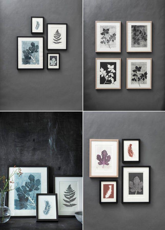 Happy Interior Blog: Botanical Prints By Pernille Møller Folcarelli