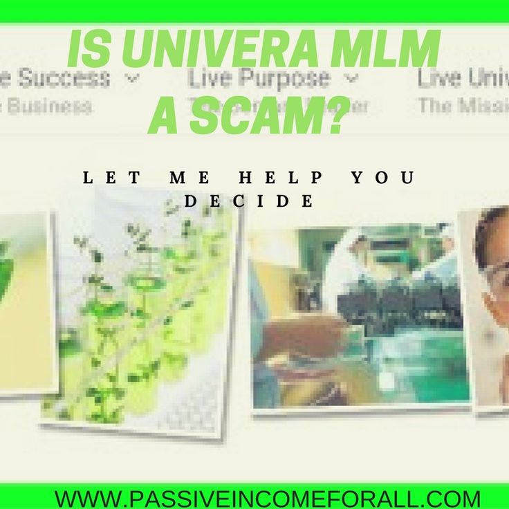 I Highlight Two Core Aspects that You Need to Know Before You Join UNIVERA MLM. Is Univera a Scam or Not? Let me Help You Decide and Put Your Mind at Ease