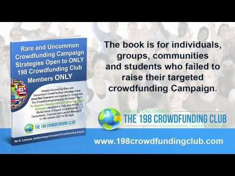 198 CrowdFunding Club - 198 Crowdfunding Club, LLC was created to assist those who have failed to achieve their targeted Crowdfunding Campaign Funds Goal!!