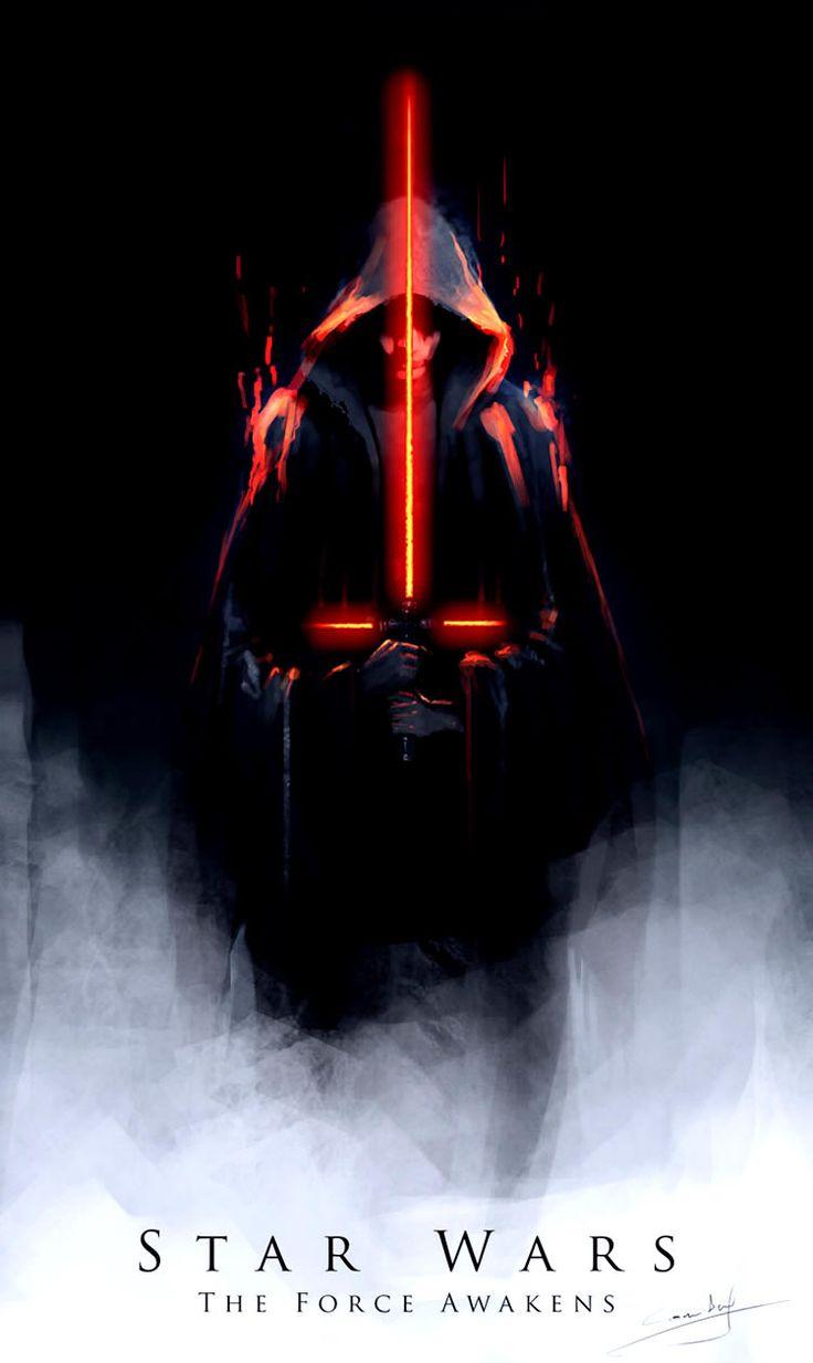 Tan sólo unos días después de la publicación del tráiler empiezan a aparecer ilustraciones de Star Wars con todos personajes, paisajes y elementos nuevos.