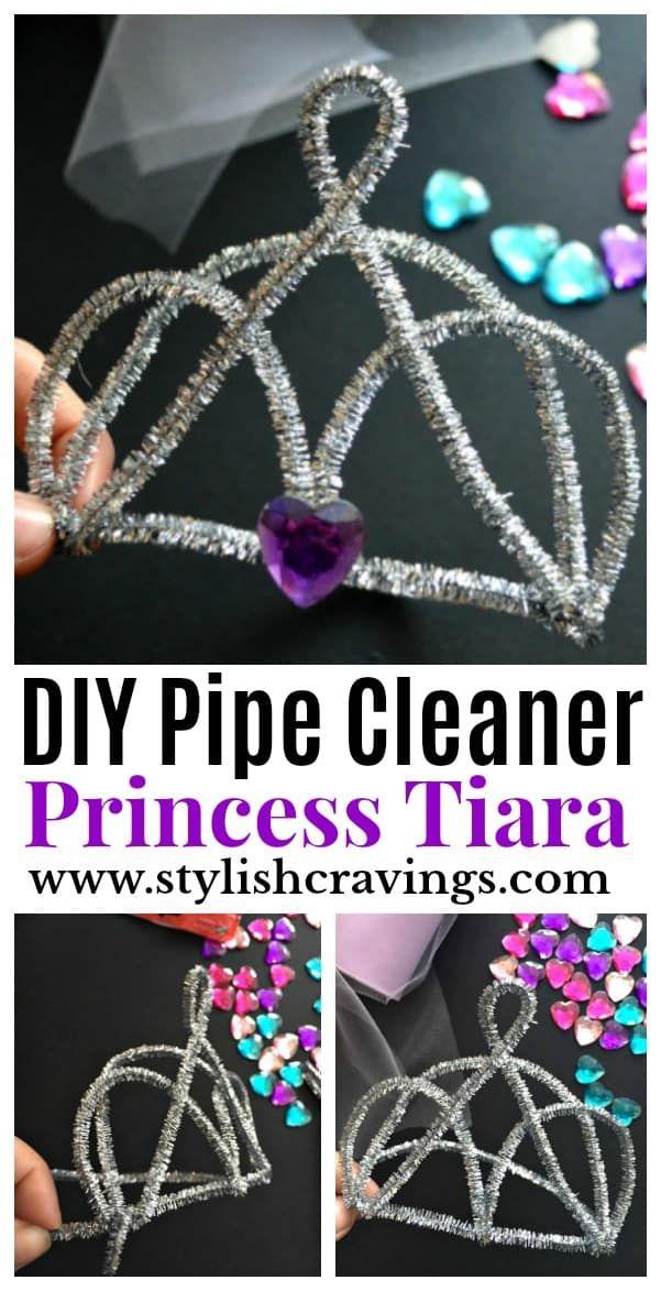 ~ Eine hübsche DIY Pfeifenreiniger Tiara – Stylish Cravings ~